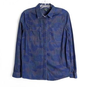 Roots like new camp print denim camouflage cotton